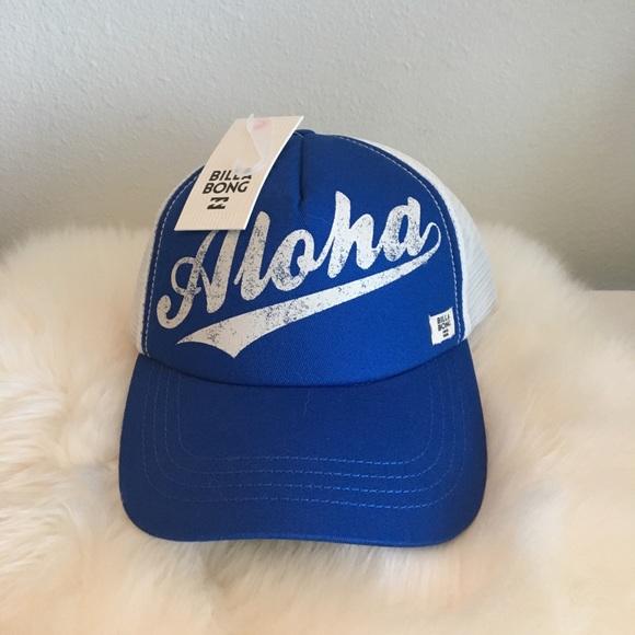 aa735942aaf000 Billabong Accessories | Nwt Aloha Womens Baseball Cap | Poshmark